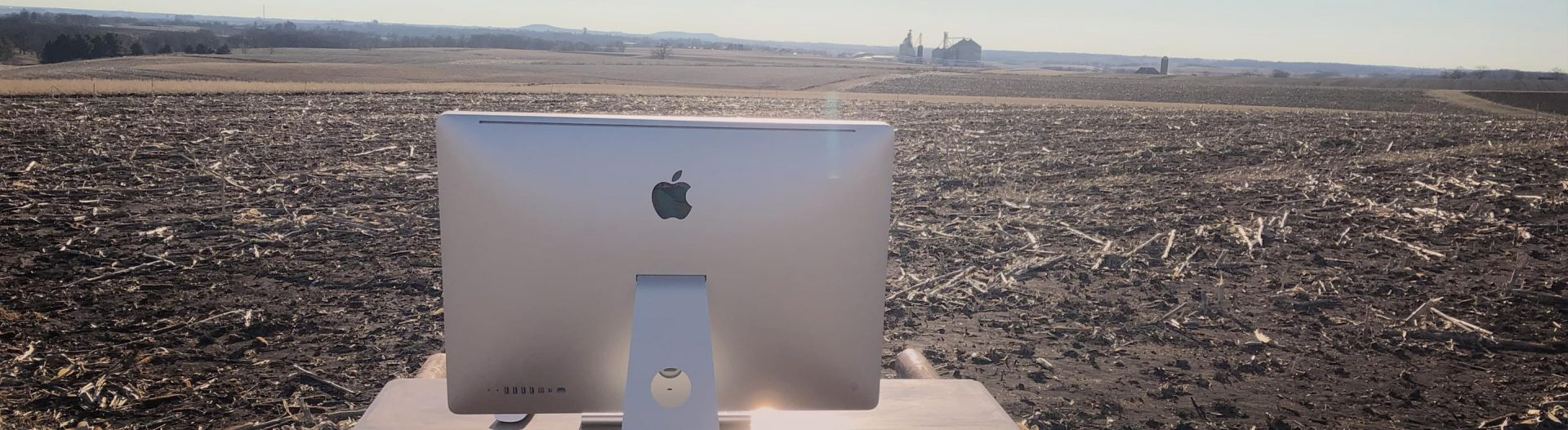 Computer in field