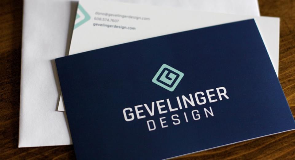 Gevelinger Design Business Card