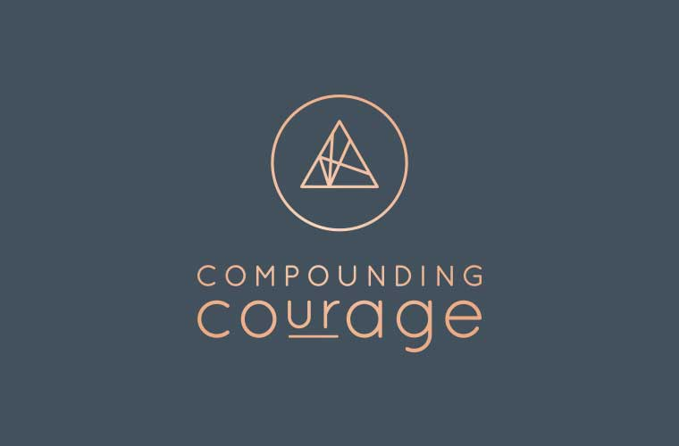 Compounding Courage logo
