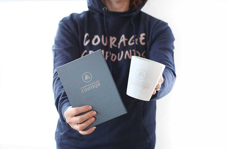 Compounding Courage Swag