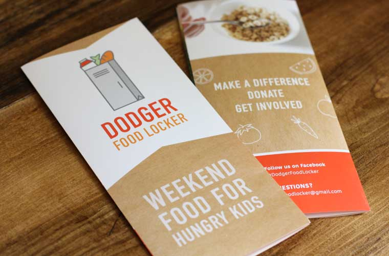 Dodger Food Locker brochure