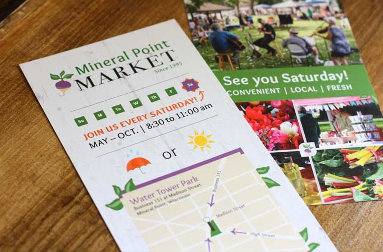 Mineral Point Market brochure