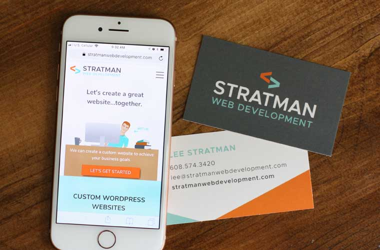 Stratman Web Development branding