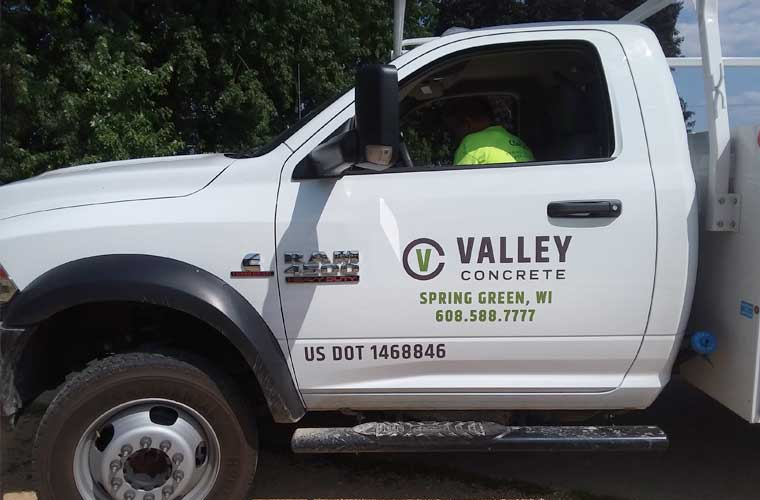 Valley Concrete Truck