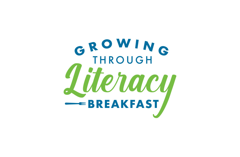 Growing Through Literacy Breakfast logo